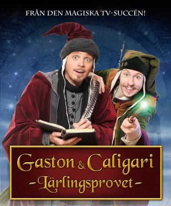 Gaston och Caligari ser glada ut
