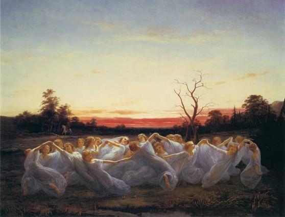 Ängsälvor - Nils Blommér (1850)