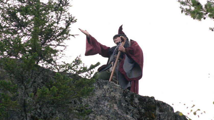 Gaston är på jakt efter skatter