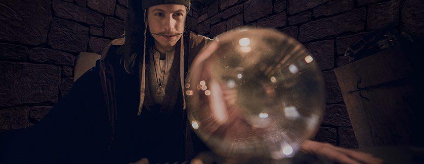 Caligari kollar kristallkulan