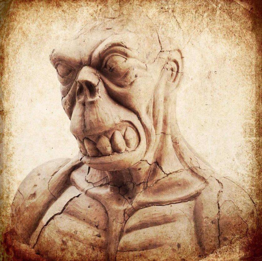 En Golem från Doctor Cagliostros Cabinet of Curiosities